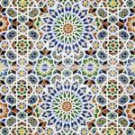 Marokkanische Fliesen aus Keramik