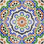 Keramikfliesen aus Marokko