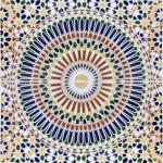 Originelle marokkanische Fliesen