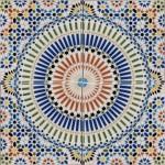 Bemalte Fliesen aus Marokko