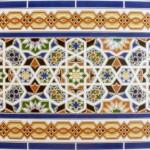 Orientalische Wandfliesen
