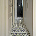 Design Bodenfliesen im exklusiven Wohnung