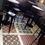 Restaurant - Zementfliesen