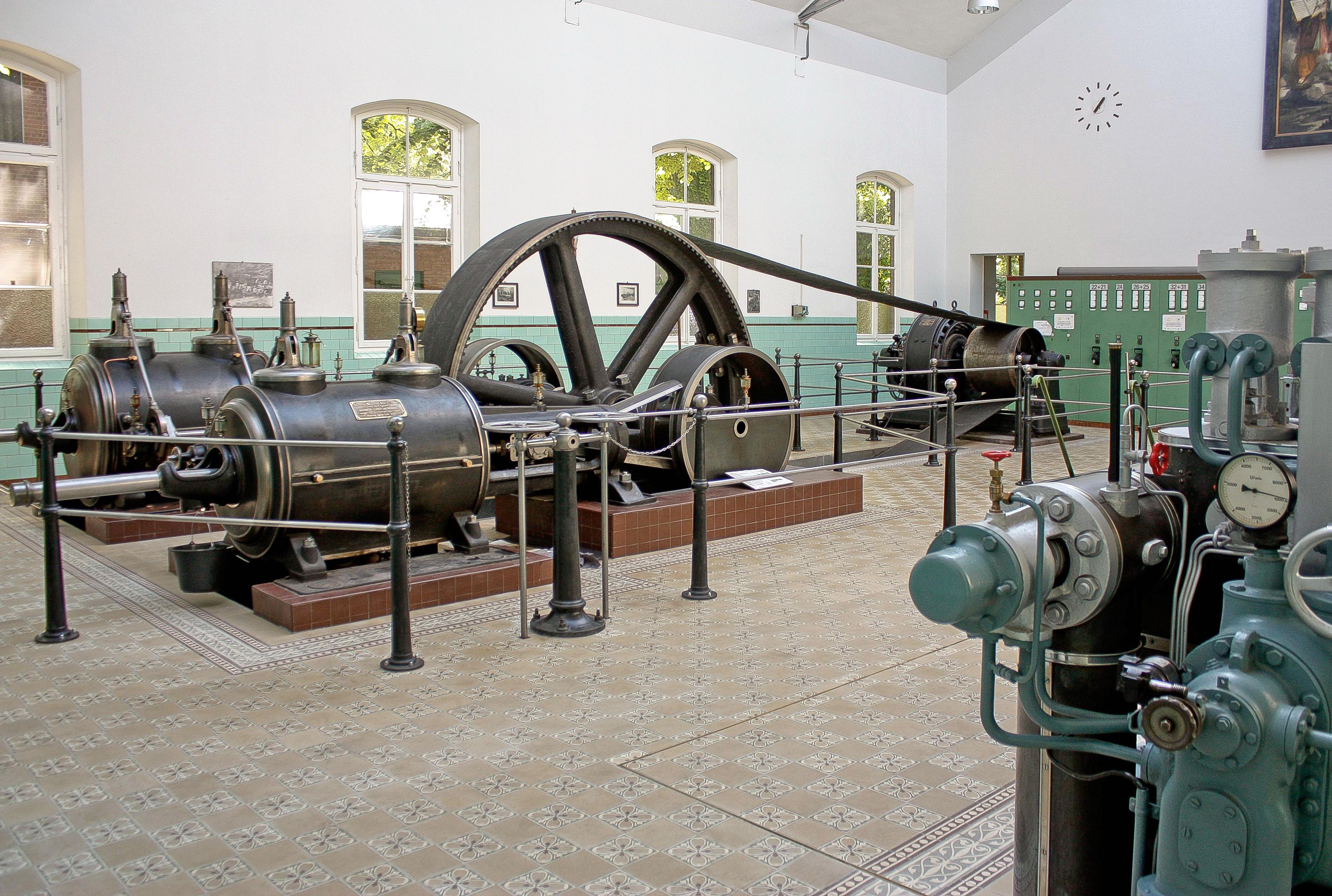 Zementfliesen im alten Fabrik