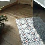 Kücheninsel - Bodenfliesen aus Zement