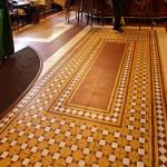 Fußboden im exklusiven Restaurant