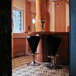 Fliesen in der rustikalen Küche