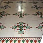Exklusive Fußboden in der Wohnung