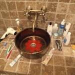 Antike Waschbecken Badezimmer - Vintage Antike Aufsatz Waschbecken