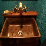 Waschbecken Aus Ton - Bemalte Antike Waschschale