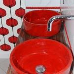 Waschbecken Retro