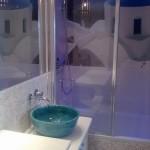 Antike Waschbecken - Design Turkus Aufsatz Waschbecken