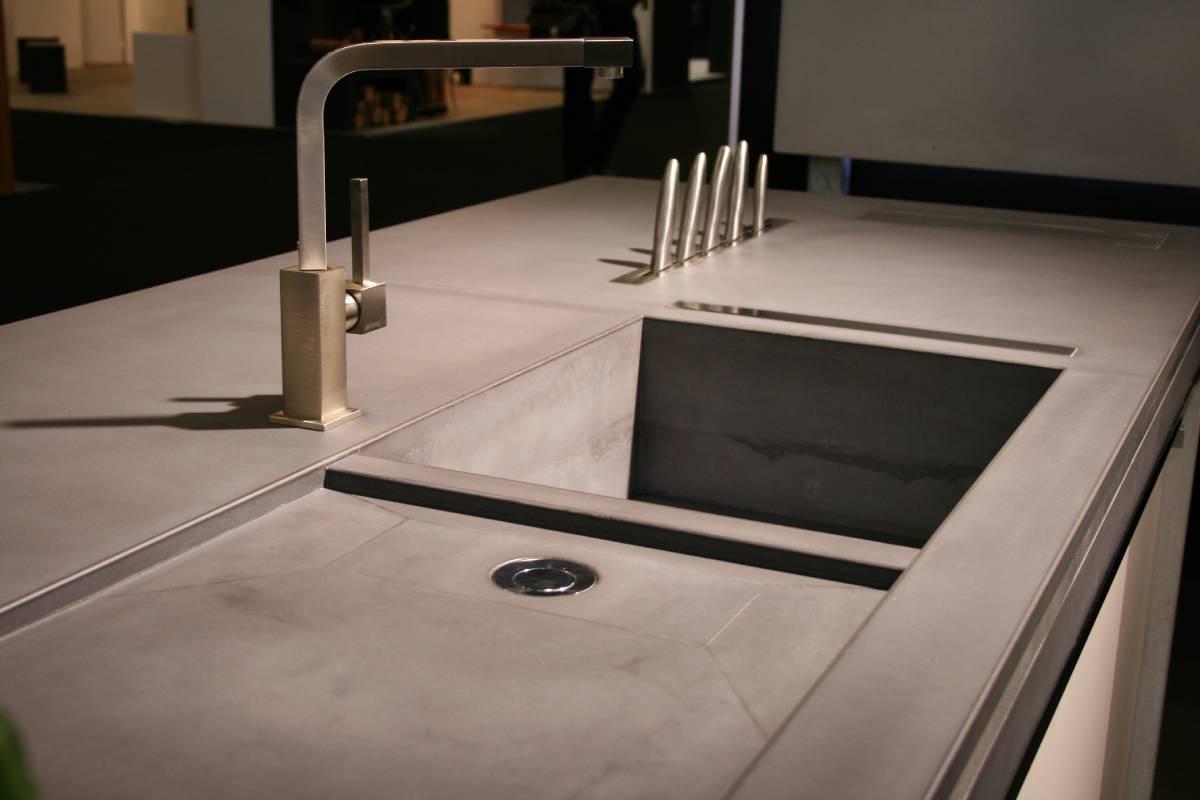 Beton Waschbecken Küche | Demooisonenbreugelkrandt