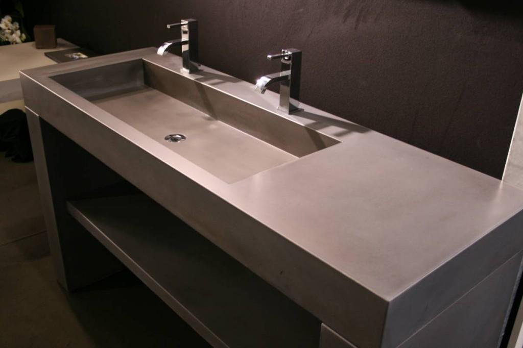 waschbecken aus beton luxus. Black Bedroom Furniture Sets. Home Design Ideas