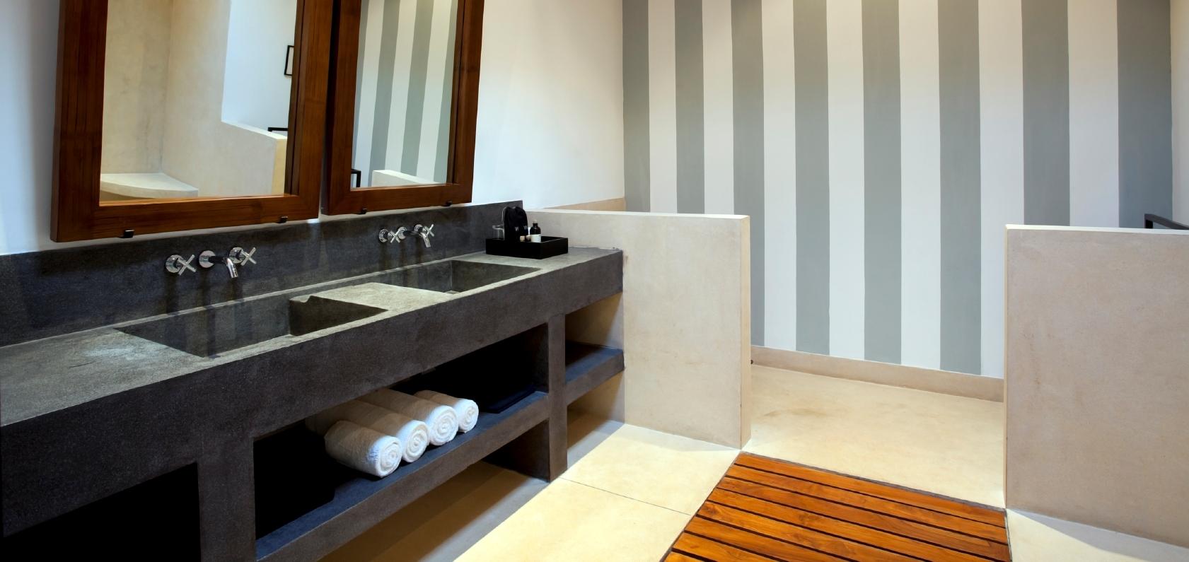 Exklusive Waschbecken waschbecken aus beton vintage