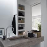Waschbecken aus Beton Badezimmer