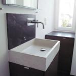 Waschbecken aus Beton Vintage