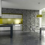 3D Fliesen in der Küche