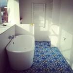 Badezimmer Bodenfliesen