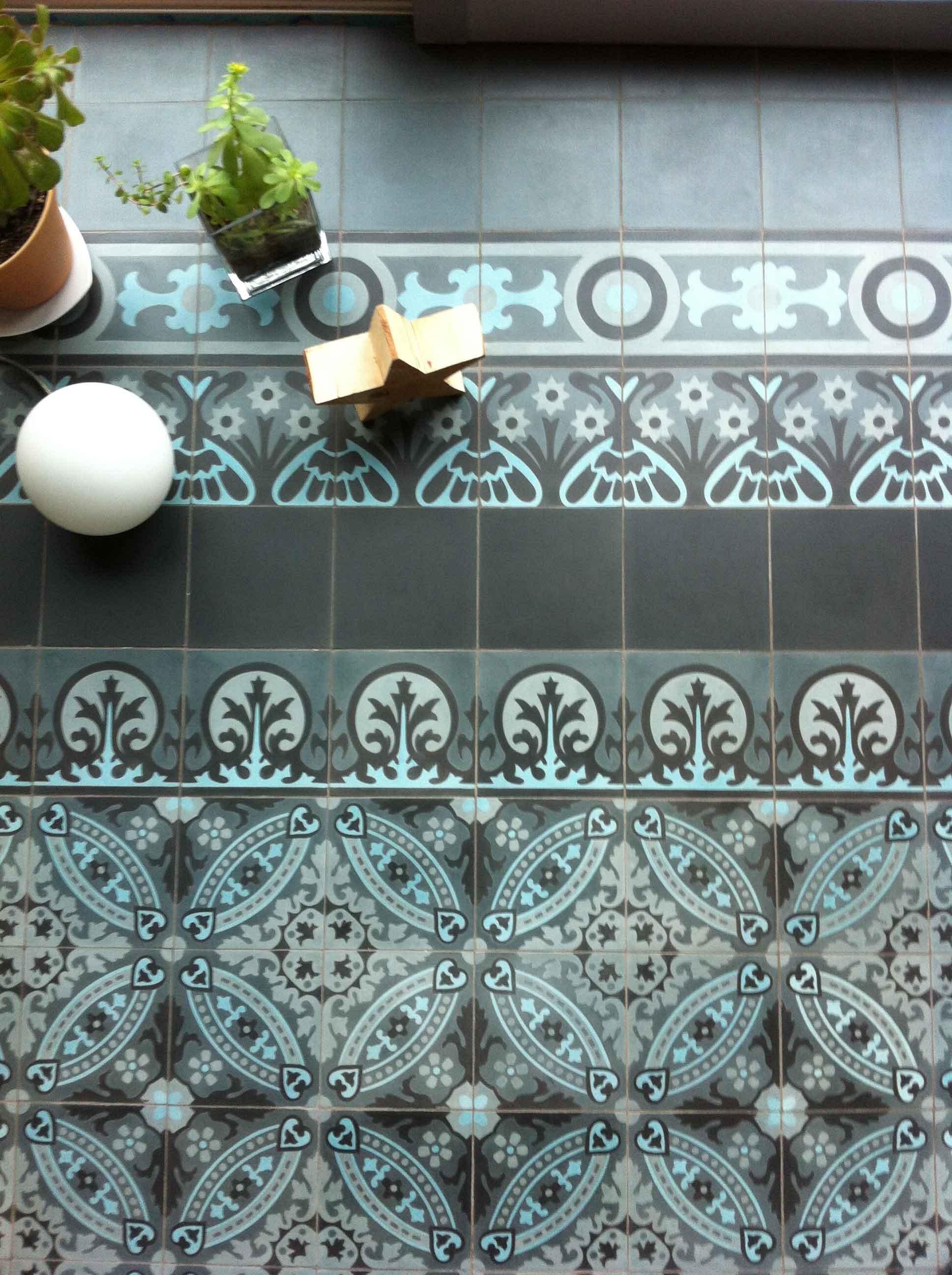 marokanische zementfliesen