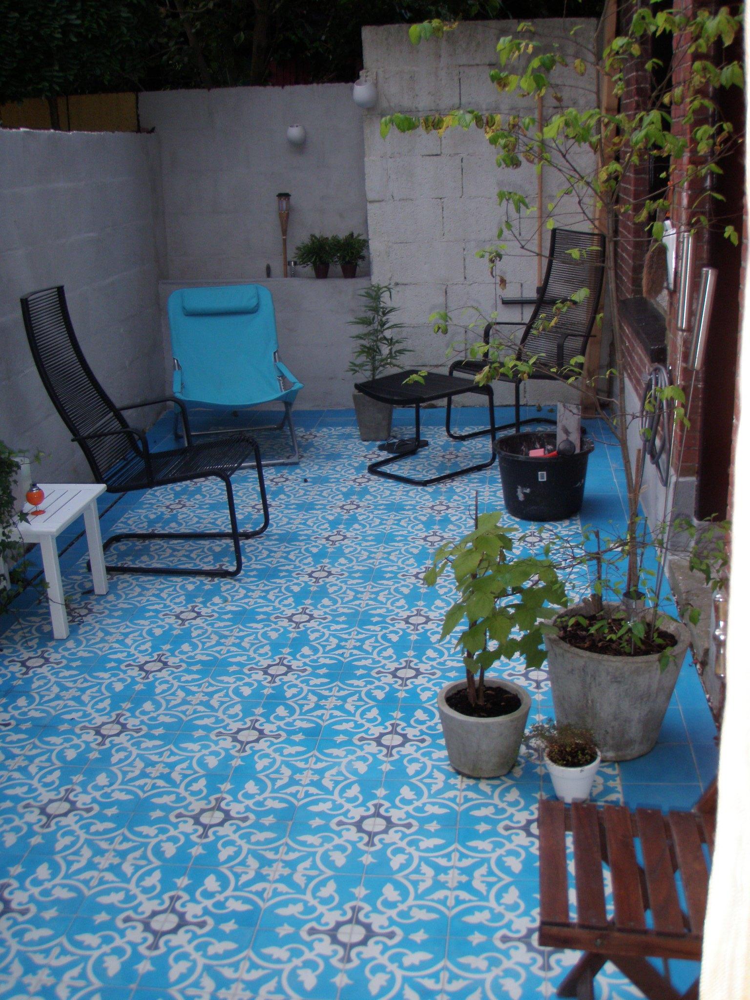 marokko zement fliesen. Black Bedroom Furniture Sets. Home Design Ideas