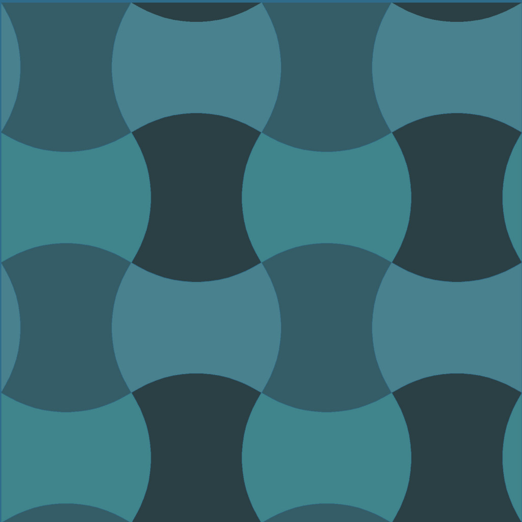Blaue Krosetts