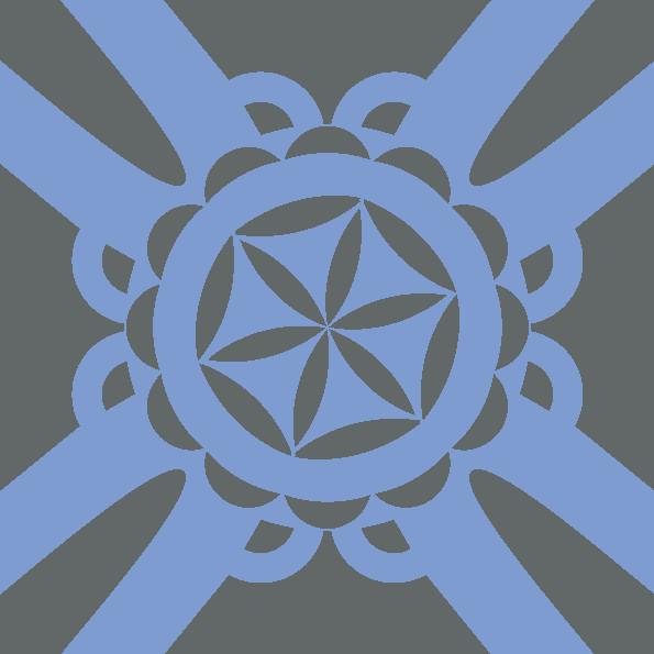 Traditionellen Bergdesign