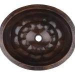 Kupfer Waschtisch - Gehammert Kupfer Waschbecken