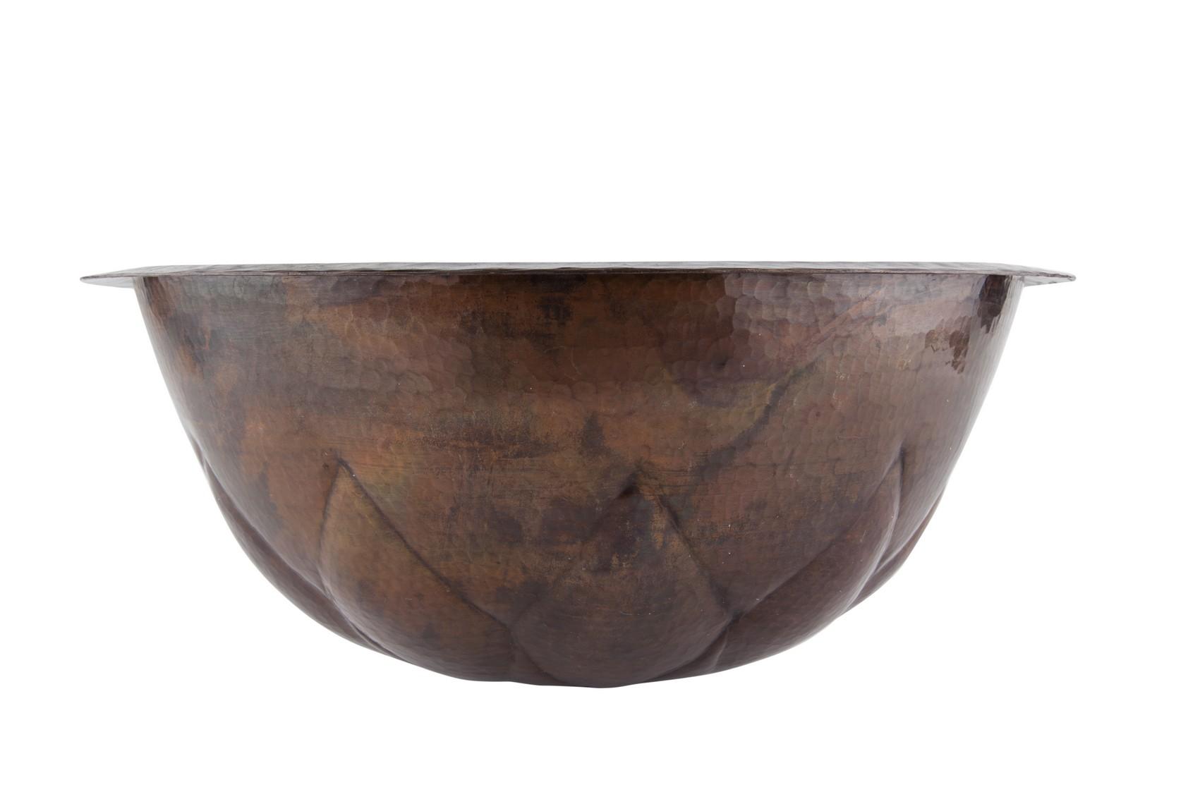 Kupferwaschtisch - Unterbau Kupferwaschbecken
