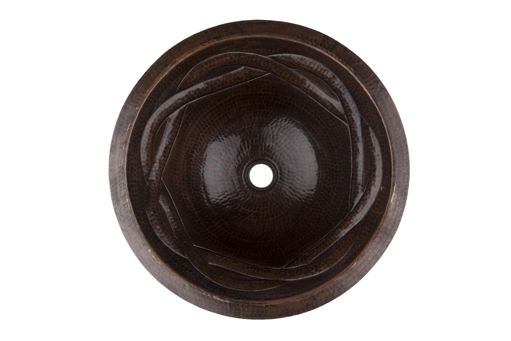 Handgemachte Waschbecken Bronze
