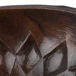 Muster Waschbecken aus Kupfer