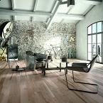 Raum mit Holz Optik FLiesen