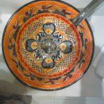 Handbemalte Waschbecken aus Mexiko